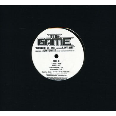 The Game WOULDN'T GET FAR (X4) Vinyl Record