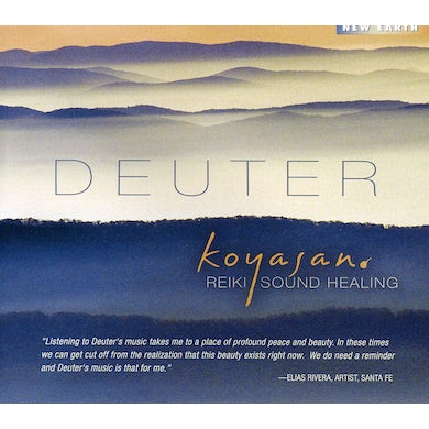 Deuter KOYASAN: REIKI SOUND HEALING CD