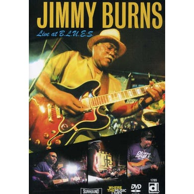 Jimmy Burns LIVE AT BLUES DVD