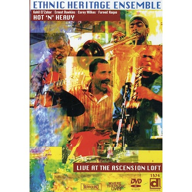 Ethnic Heritage Ensemble HOT N HEAVY: LIVE AT THE ASCENSION LOFT DVD