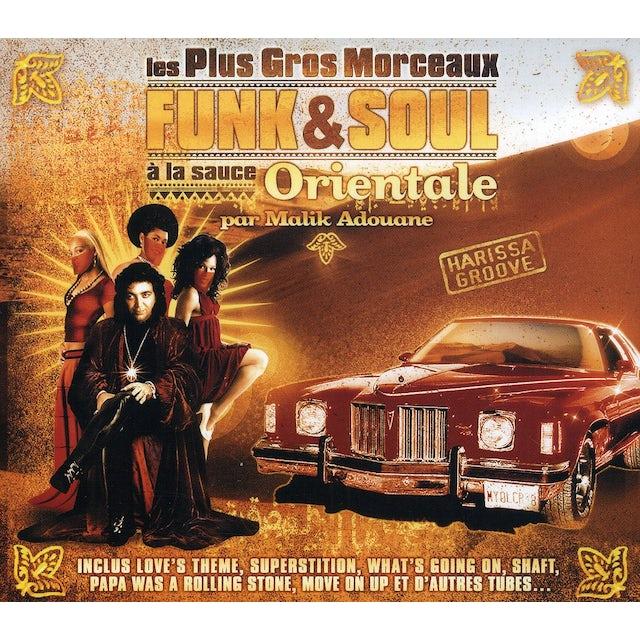 Malik Adouane PLUS GROS MORCEAUX FUNK & SOUL A LA SAUCE ORIENTAL CD