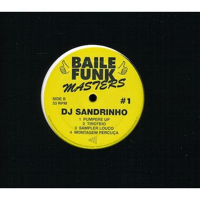 Dj Sandrinho BAILE FUNK MASTERS #1 (EP) Vinyl Record