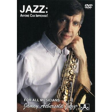 Jamey Aebersold JAZZ: ANYONE CAN IMPROVISE DVD