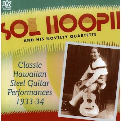 Sol Hoopii & His Novelty Quartette CLASSIC HAWAIIAN STEEL GUITAR 1933-34 CD