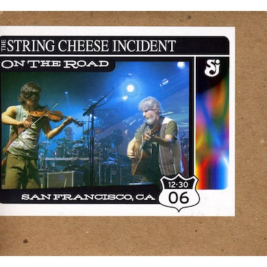 String Cheese Incident ON THE ROAD: SAN FRANCISCO CA 12-30-06 CD