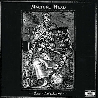Machine Head BLACKENING CD
