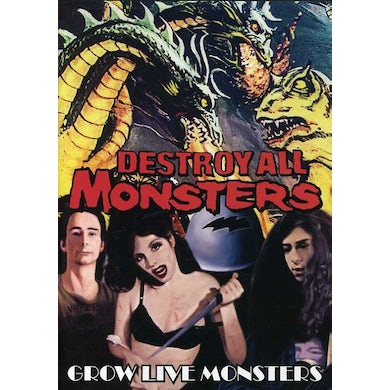 Destroy All Monsters GROW LIVE MONSTERS DVD