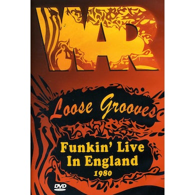 War LOOSE GROOVES: FUNKIN LIVE IN ENGLAND 1980 DVD
