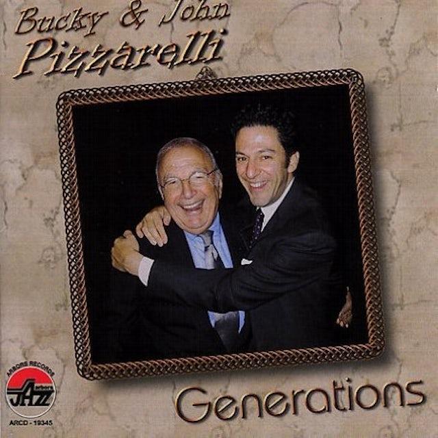 Bucky Pizzarelli GENERATIONS CD