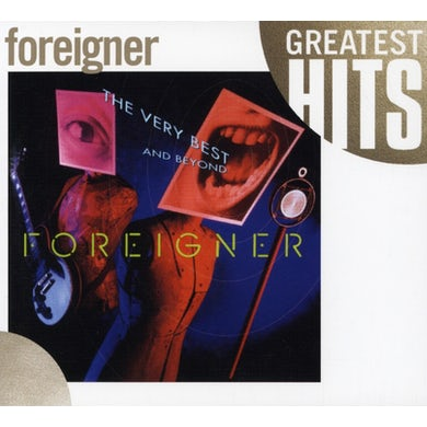 Foreigner VERY BEST & BEYOND CD