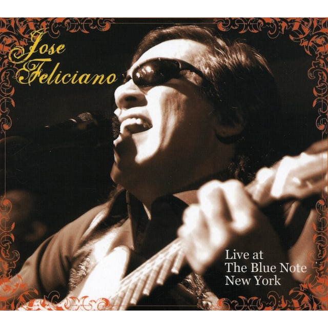 Jose Feliciano LIVE AT THE BLUE NOTE NEW YORK CD