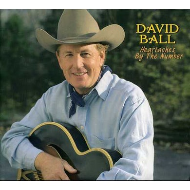 David Ball HEARTACHES BY THE NUMBER CD