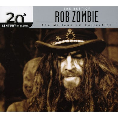 Rob Zombie 20TH CENTURY MASTERS: MILLENNIUM COLLECTION CD