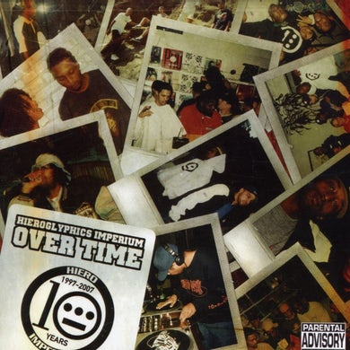 Hieroglyphics OVER TIME CD