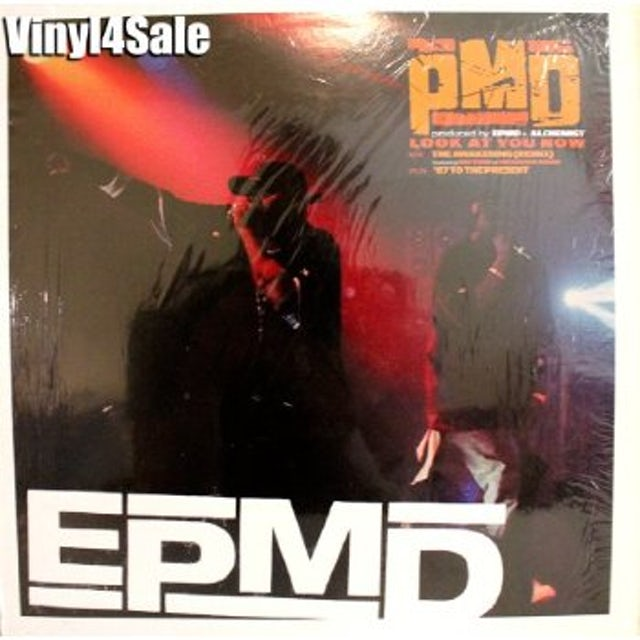 Epmd LOOK AT YOU NOW Vinyl Record