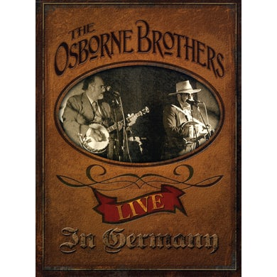 Osborne Brothers LIVE IN GERMANY CD