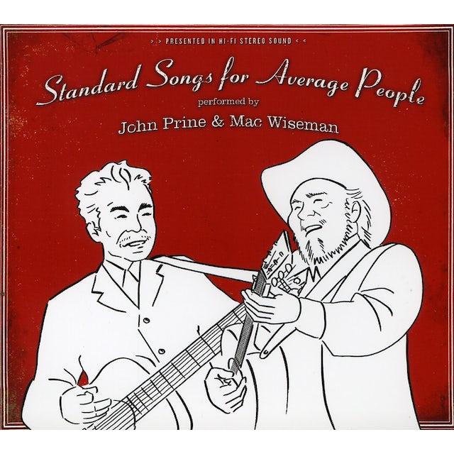 John Prine STANDARD SONGS FOR AVERAGE PEOPLE CD
