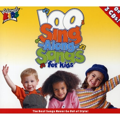 Cedarmont Kids 100 SINGALONG SONGS FOR KIDS CD