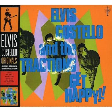 Elvis Costello GET HAPPY CD