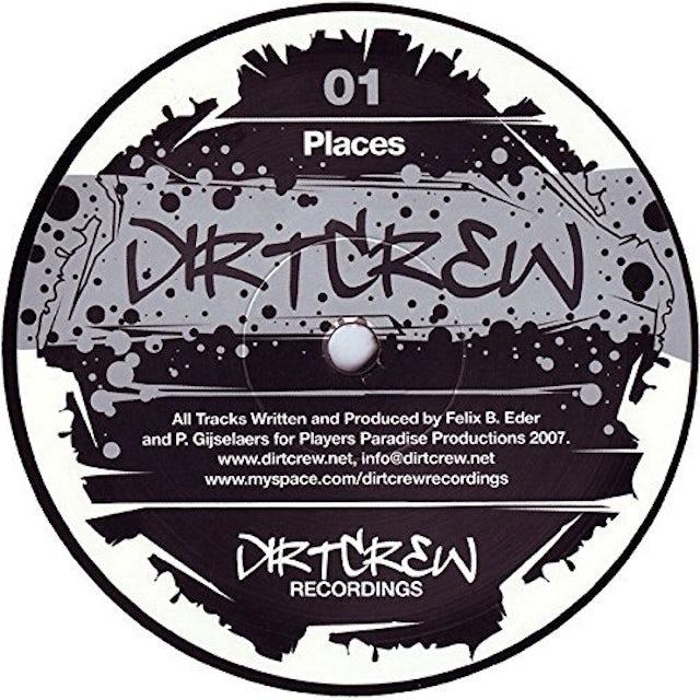 Dirt Crew PLACES / DEEP Vinyl Record