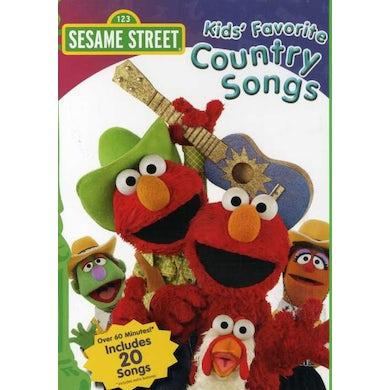 Sesame Street KIDS FAVORITE COUNTRY SONGS DVD
