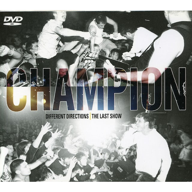 Champion DIFFERENT DIRECTIONS / THE LAST SHOW CD