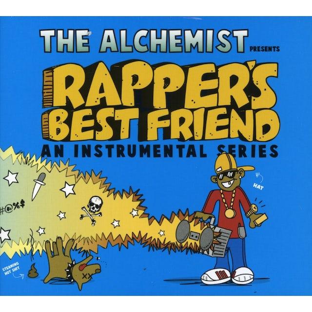 Alchemist RAPPER'S BEST BEST FRIEND: AN INSTRUMENTAL SERIES CD