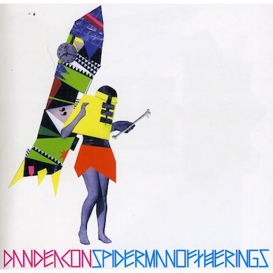 Dan Deacon SPIDERMAN OF THE RINGS CD