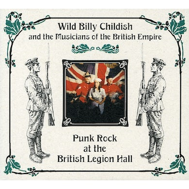 Billy Childish PUNK ROCK AT THE BRITISH LEGION HALL CD