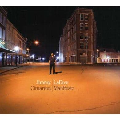 Jimmy LaFave CIMARRON MANIFESTO CD
