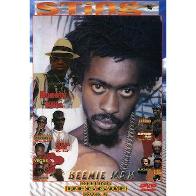 Beenie Man STING DVD