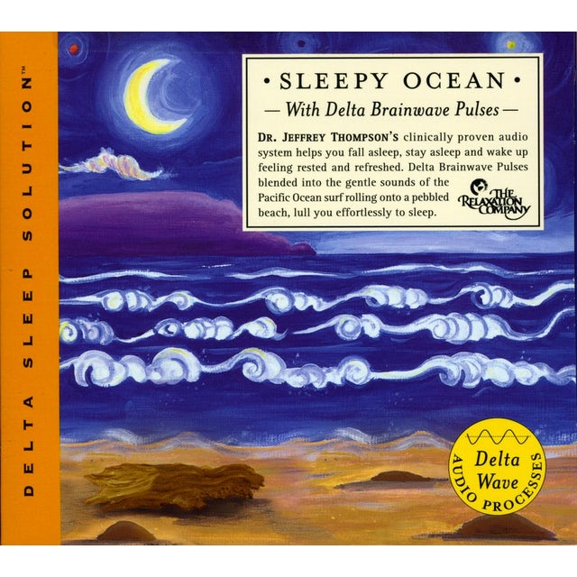 Jeffrey Thompson SLEEPY OCEAN WITH DELTA BRAINWAVE PULSES CD