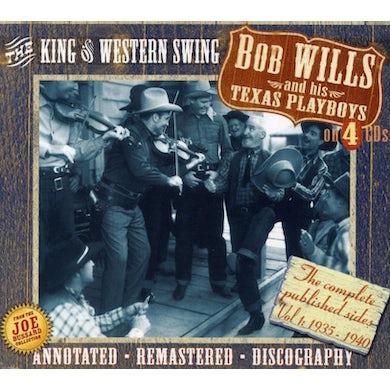 Bob Wills & His Texas Playboys KING OF WESTERN SWING CD