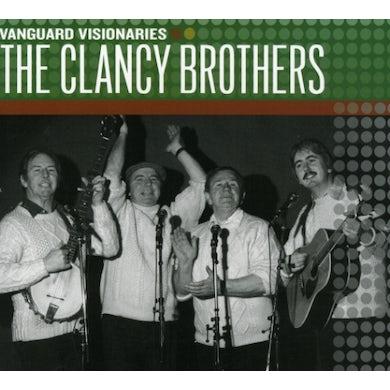 Clancy Brothers VANGUARD VISIONARIES CD