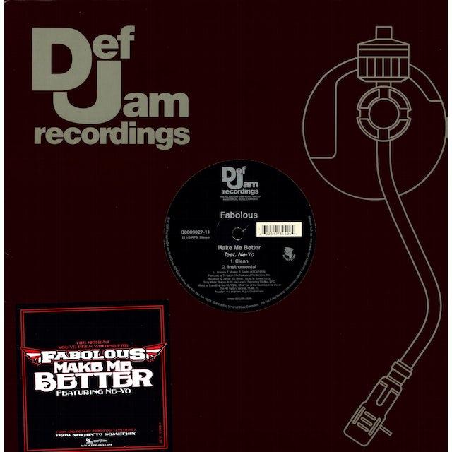 Fabolous MAKE ME BETTER (X2) Vinyl Record