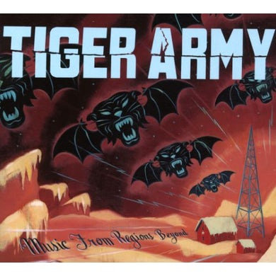 Tiger Army MUSIC FROM REGIONS BEYOND CD