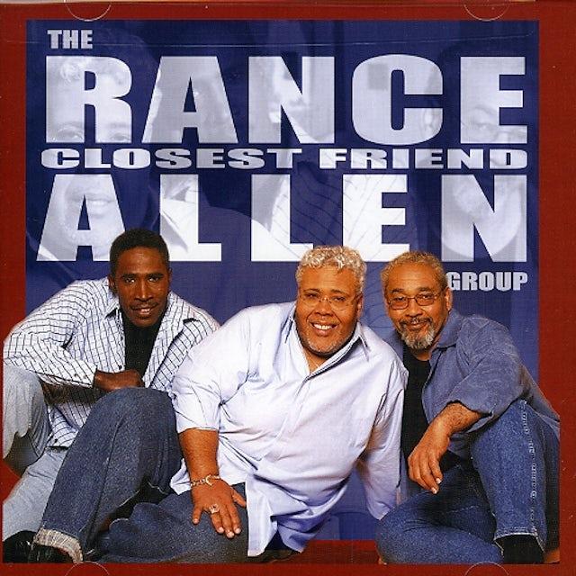 Rance Allen CLOSEST FRIEND CD