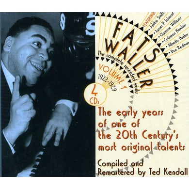 Fats Waller COMPLETE RECORDED WORKS 1 CD