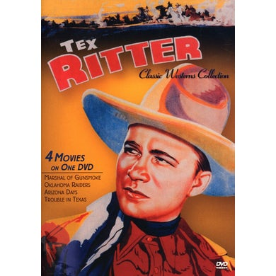 CLASSIC WESTERNS: TEX RITTER FOUR FEATURE DVD