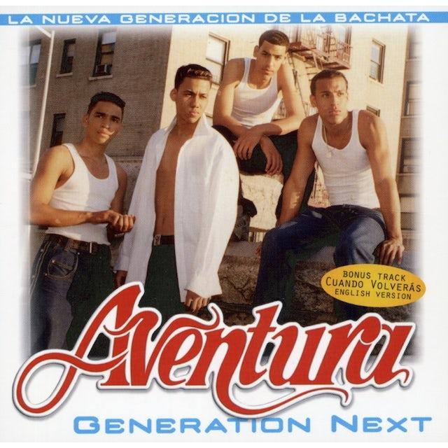 Aventura GENERATION NEXT CD