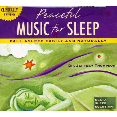 Jeffrey Thompson SLEEPY RAIN: WITH DELTA BRIANWAVE PULSES CD