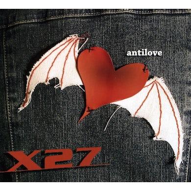 X27 ANTILOVE CD