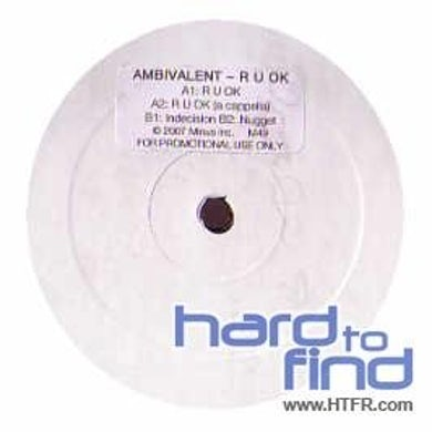 Ambivalent R U OK Vinyl Record