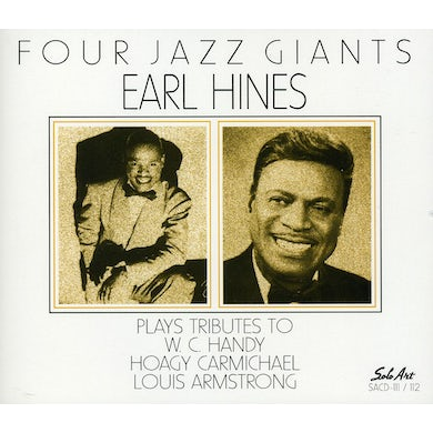 Earl Hines FOUR JAZZ GIANTS CD