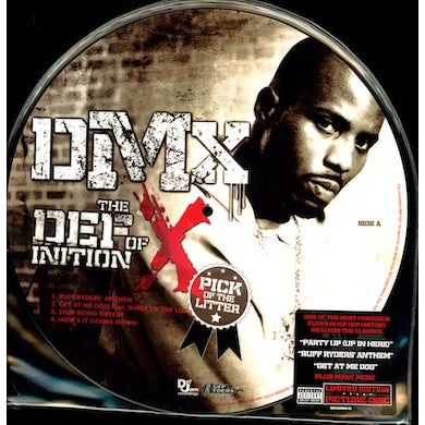 Dmx DEFINITION OF X: THE PICK OF THE LITTER Vinyl Record