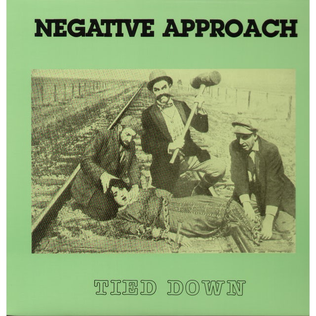 Negative Approach TIED DOWN Vinyl Record