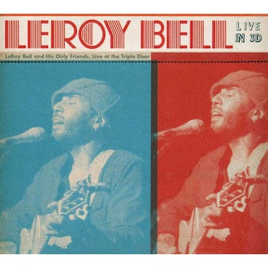 Leroy Bell LIVE IN 3D CD