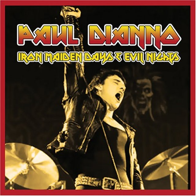 Paul Dianno IRON MAIDEN DAYS & EVIL NIGHTS CD