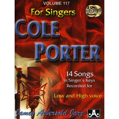 Jamey Aebersold COLE PORTER: FOR SINGERS CD