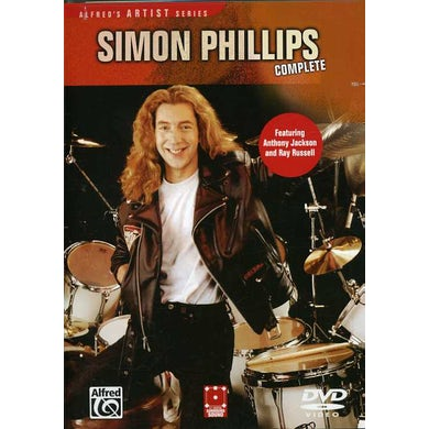 Simon Phillips COMPLETE DVD